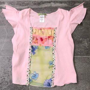 Girls Little Mass T-Shirt, Size 8